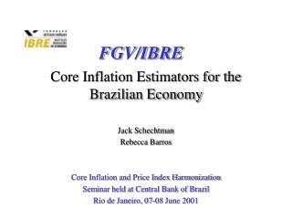 FGV/IBRE