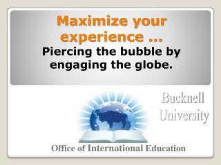 Office of  International  Education