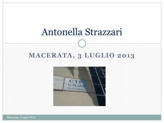 Antonella Strazzari