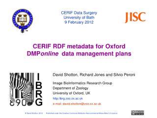 Data management plans – the DCC DMP online  tool