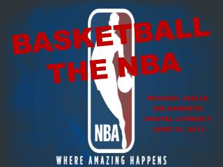 Basketball The  nba