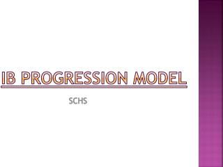 IB Progression Model