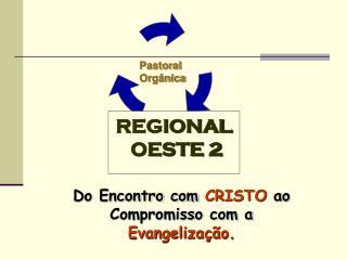Do Encontro com  CRISTO  ao  Compromisso com a  Evangelização.