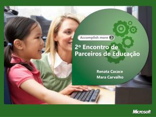 2 o Encontro  de Parceiros de Educação