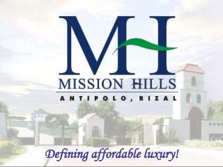Defining affordable luxury!