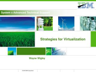 Strategies for Virtualization