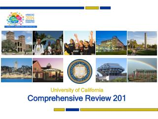 University of California Comprehensive Review 201