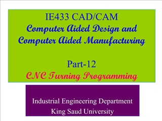 IE433 CAD