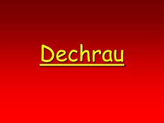 Dechrau