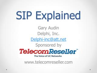 SIP Explained