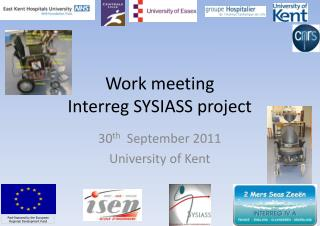 Work meeting Interreg SYSIASS project