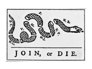 Drawing by Benjamin Franklin - 1754