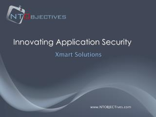 Innovating Application Security