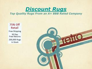 Discount Rugs - The Best Rug Deals Online