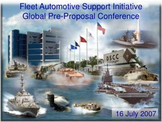 Fleet Automotive Support Initiative Global Pre-Proposal Conference