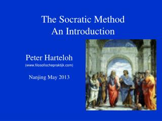 The Socratic Method An Introduction