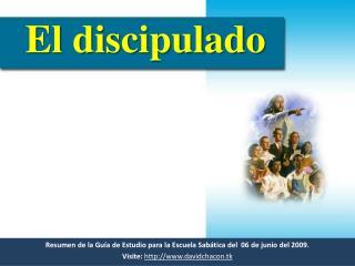 Resumen de la Guía de Estudio para la Escuela Sabática del   06  de  junio  del 2009.