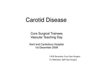 Carotid Disease