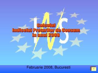 Februarie 2008, Bucuresti