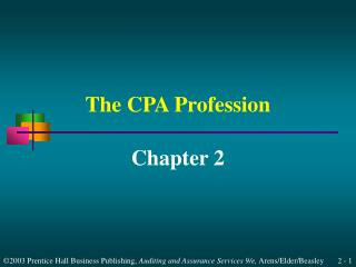 The CPA Profession