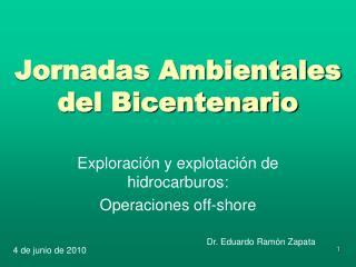Jornadas Ambientales del Bicentenario