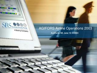 AGIFORS  Airline Operations  2003