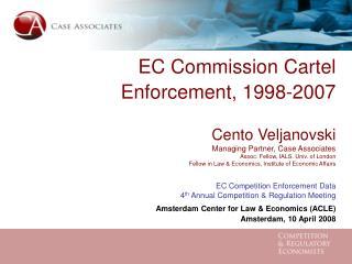 Case Associates – Competition & Regulatory Economists casecon