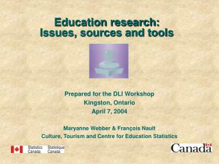 Education research:  Issues, sources and tools