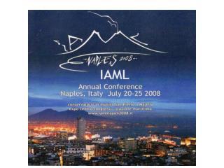 Konference IAML v dal��ch letech