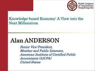 Knowledge-based Economy: A View into the Next Millennium