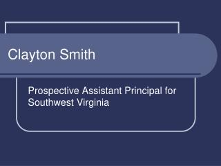 Clayton Smith