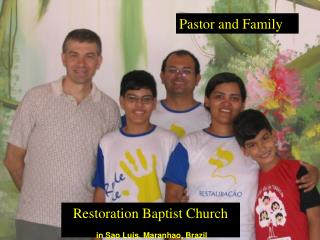 Pastor and Family