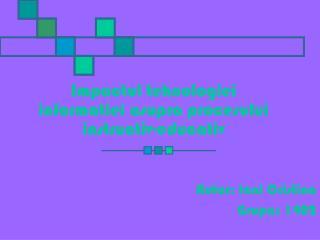 Impactul tehnologiei informatiei asupra procesului instructiv-educativ