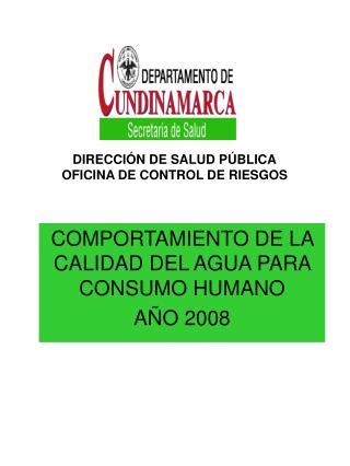 DIRECCIÓN DE SALUD PÚBLICA OFICINA DE CONTROL DE RIESGOS