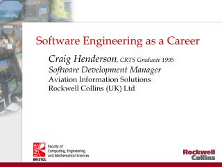 Software Engineering as a Career