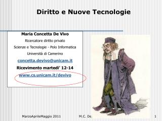 Diritto e Nuove Tecnologie