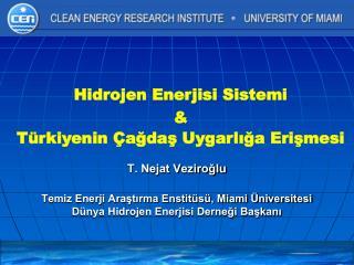 T. Nejat Veziroğlu Temiz Enerji Araştırma Enstitüsü, Miami Üniversitesi