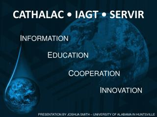 CATHALAC • IAGT • SERVIR