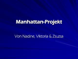 Manhattan-Projekt