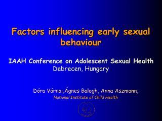 Dóra Várnai,Ágnes Balogh, Anna Aszmann,  National Institute of Child Health