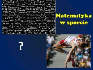 Matematyka w sporcie