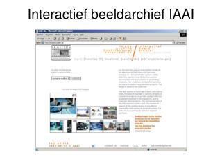 Interactief beeldarchief IAAI