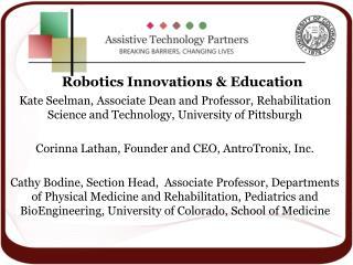 Robotics Innovations & Education