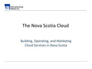 The Nova Scotia Cloud