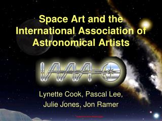 Space Art and the  International Association of Astronomical Artists