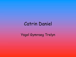Catrin Daniel
