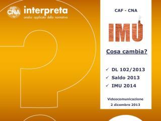 CAF - CNA