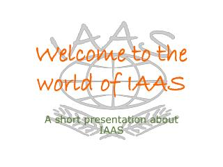 Welcome to the  world of IAAS