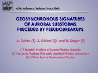 GEOSYNCHRONOUS SIGNATURES OF AURORAL SUBSTORMS PRECEDED BY PSEUDOBREAKUPS