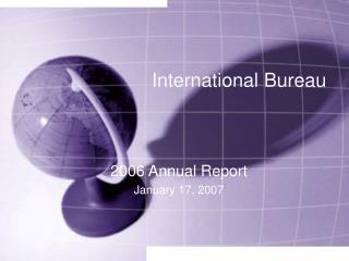 International Bureau